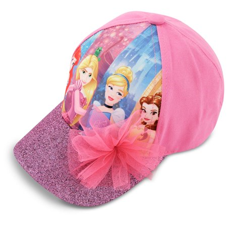 Disney Princess Cotton Baseball Cap, Little Girls, Age