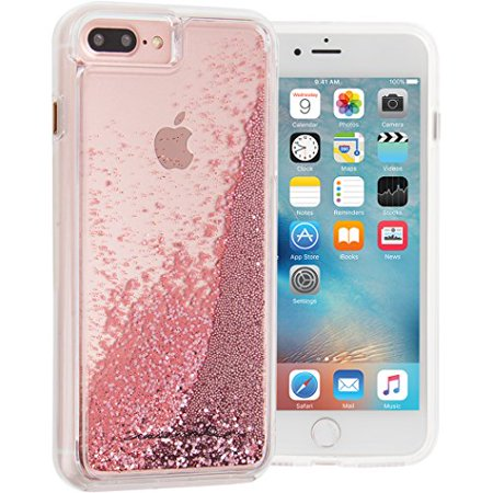 iPhone 8/7/6S Case-mate Teal Waterfall Naked Tough case