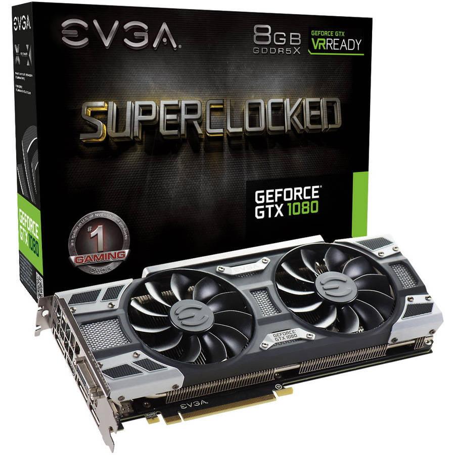 EVGA NVIDIA GeForce GTX 1080 SC 8GB PCI Express 3.0 Graphics Card by EVGA