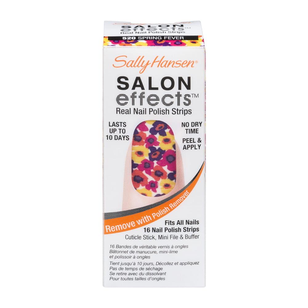 Coty Sally Hansen Salon Effects Nail Polish Strips, 16 ea - Walmart.com