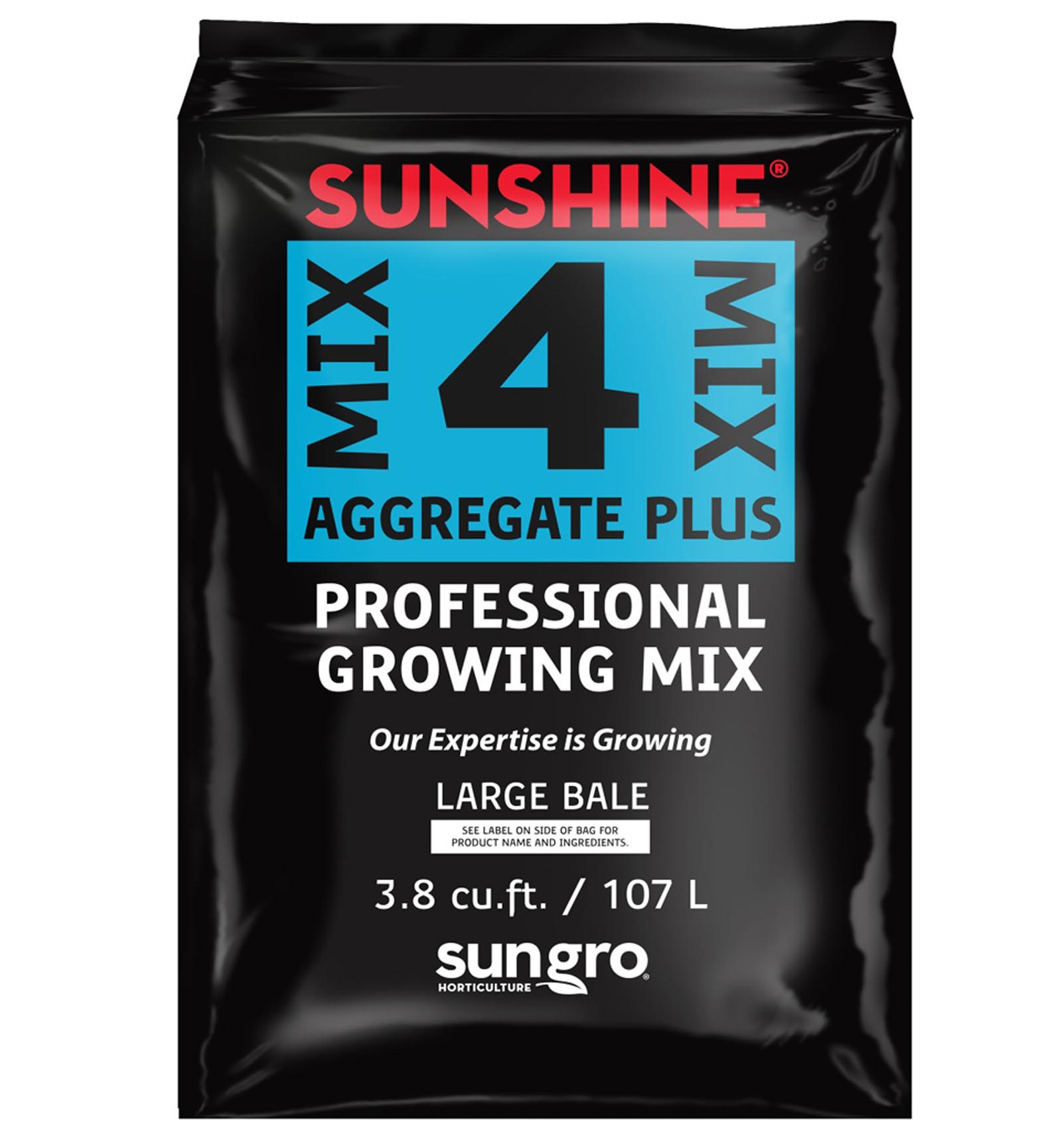 SUNGRO Sunshine Mix #4 3.8 Cu Ft Compressed Professional ...