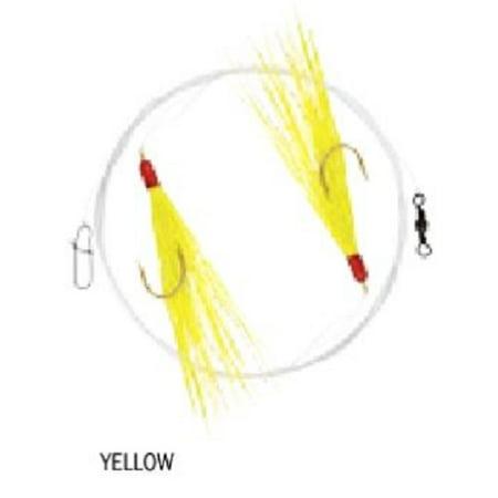 Apex tackle ap pmr 52 perch maraflash rig w 8lb mono for Yellow perch fishing rigs