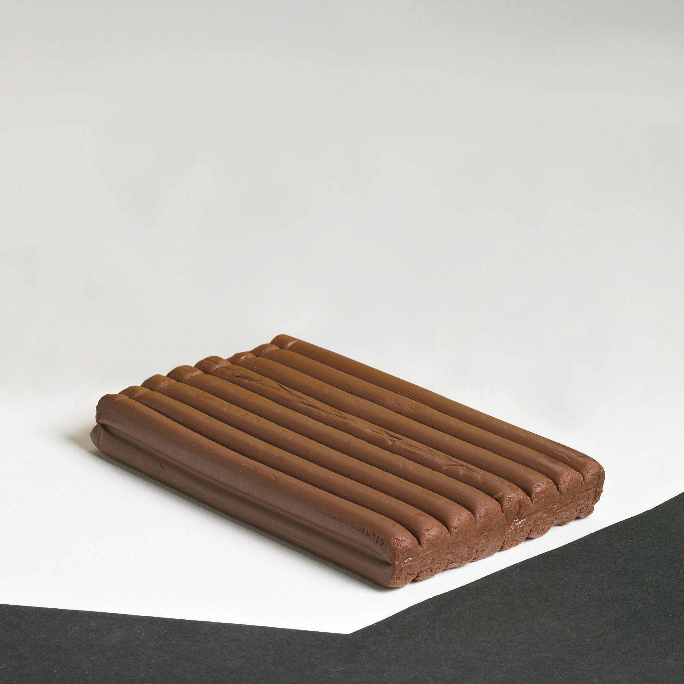 School Smart Non-Toxic Modeling Clay, 1 lb, Terra Cotta