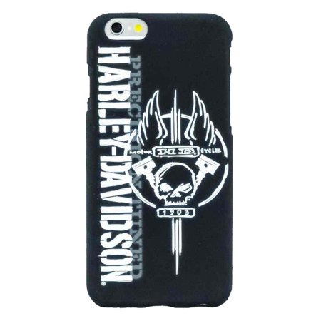 Harley-Davidson Men's Winged Willie G Skull iPhone 6 Phone Shell, Black 8303, Harley