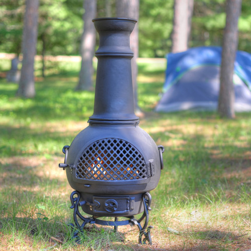The Blue Rooster Gatsby Style Chiminea by The Blue Rooster