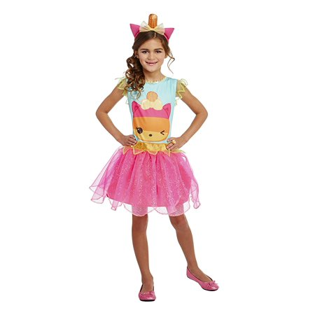 Pop Art Girl Costume (Palamon Num Noms Tropi Cali Pop Classic Girls Costume Small (4 -)