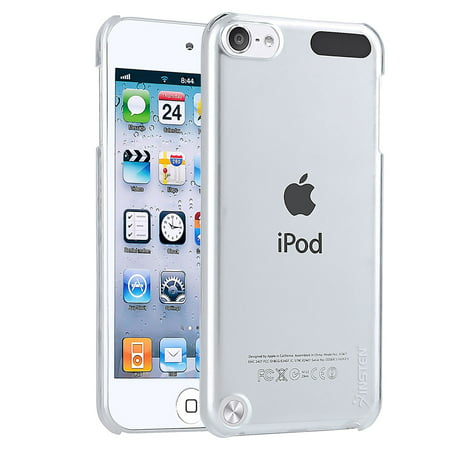 Insten iPod Touch 6 Generation Case Snap-on Crystal Case Cover For Apple iPod touch 6 6th Gen 6G 5 5th Gen 5G, Clear (Ipod Touch Screen Cover)