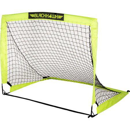 Franklin Sports Blackhawk 6.5/' x 3.5/' Portable Soccer Goal Fiberglass Weatherpro