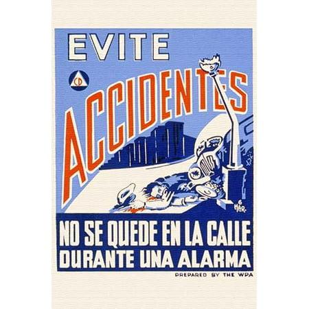 Online Evites (Evite Accidentes-Fine Art Canvas Print (20