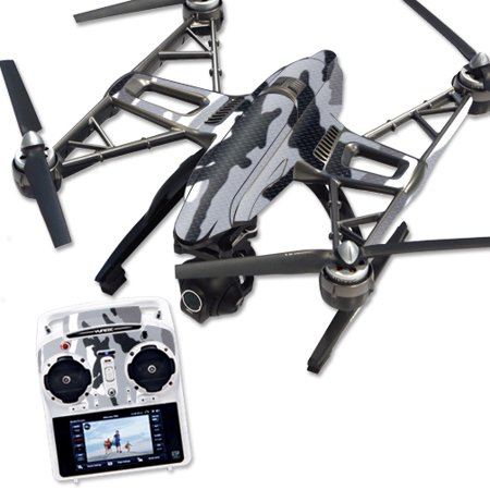 Skin Decal Wrap for Yuneec Q500 & Q500+ Quadcopter Drone Gray Camo
