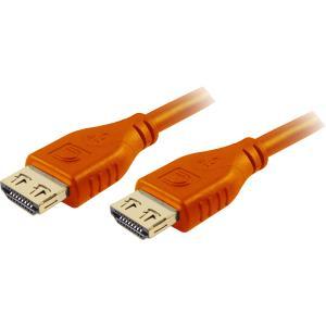 15FT MICROFLEX PRO AV/IT HS HDMI M/M PROGRIP ORNG CABL LT WARR