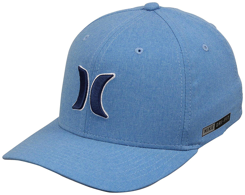 online store 3f206 479b2 Hurley - Hurley Men s Dri-Fit Heather FlexFit Hat, Light Photo Blue, L XL -  Walmart.com