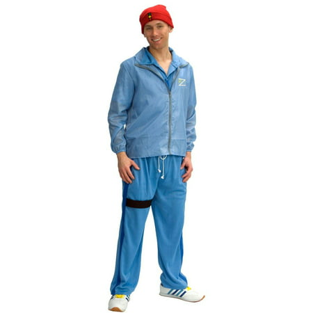 Life Aquatic Captain Deluxe Costume Adult Standard (Captain Hook Adult)