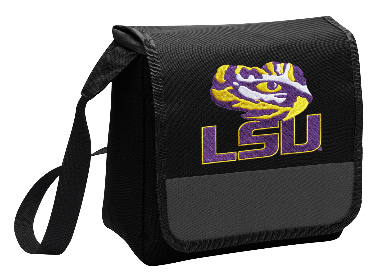 0077e1c96eff LSU Tigers Lunch Bag Stylish OFFICIAL LSU Lunchbox Cooler for School or  Office - Men or Women