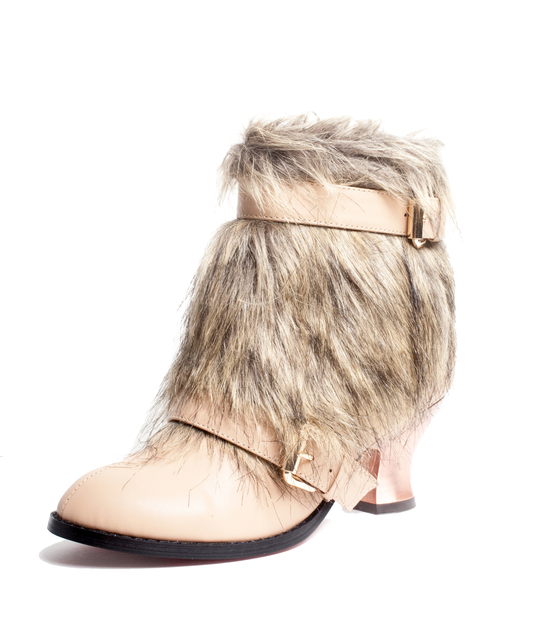 Women's Elena Fur Boot Economical, stylish, and eye-catching shoes
