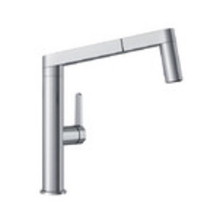 Blanco 402043 Panera 1.5 GPM Single Handle Pull-Out Kitchen Faucet with  Dual Spray