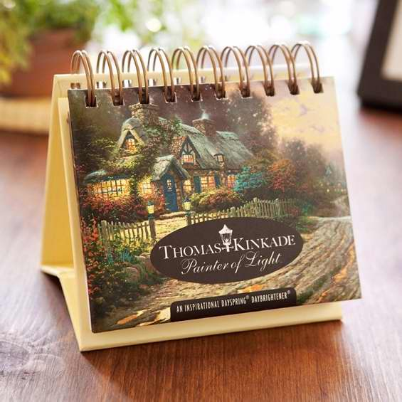 Calendar-Thomas Kinkade-Painter Of Light (Day Brightener)