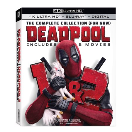 Deadpool: The Complete Collection (For Now) (4K Ultra HD + Blu-ray + Digital) - Deadpool Halloween Ryan Reynolds