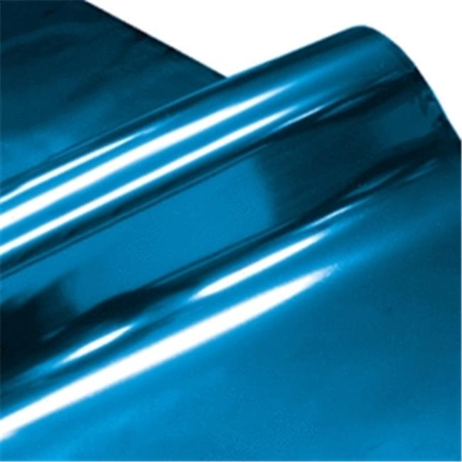 Cindus 78695 30 in. x 5 ft. Cellophane Wrap Roll - Metallic Rb & Silver