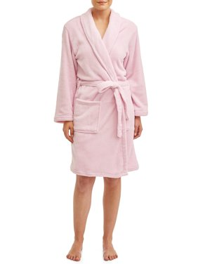 Blue Star Clothing Women's Full Length Plush Body Robe