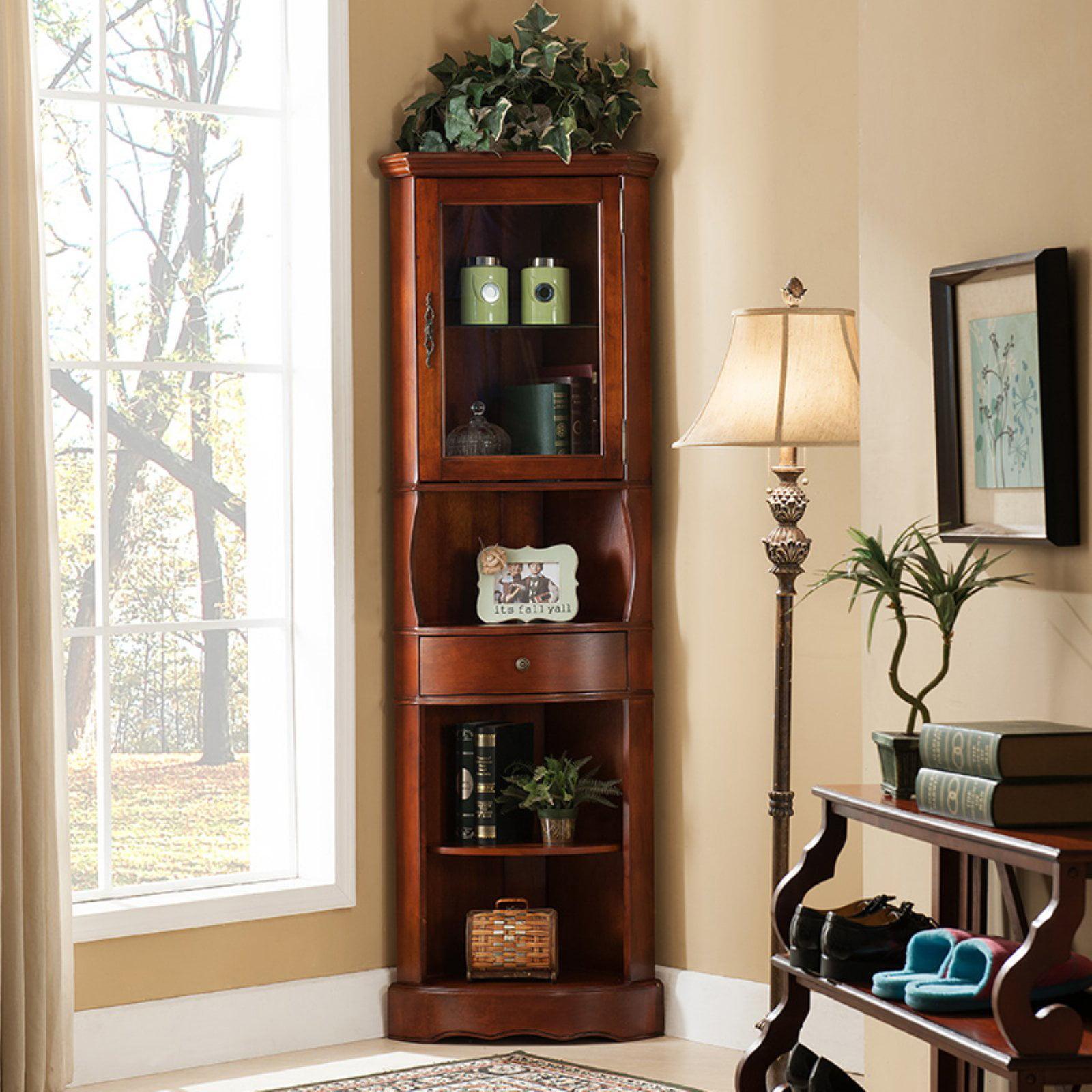 All Things Cedar Corner Curio Cabinet by All Things Cedar
