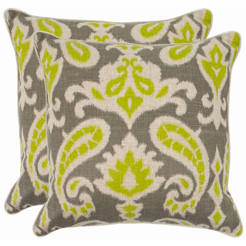 Safavieh Dylan Pillow, Multiple Colors, Set of 2