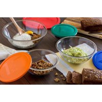 Pyrex 8-Piece Smart Essentials Mixing Bowl