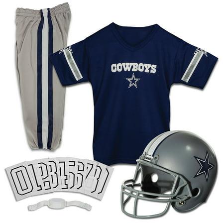 timeless design 7d8a4 9c51e Franklin Sports NFL Dallas Cowboys Youth Licensed Deluxe Uniform Set, Large