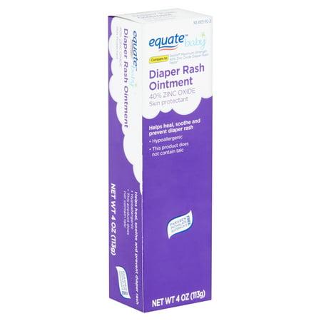 (2 Pack) Equate Baby Diaper Rash Ointment, 4 oz ()