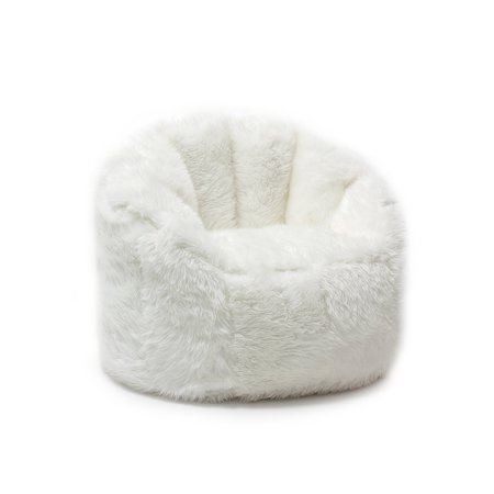 Big Joe Milano Bean Bag Shag Chair Walmart Com