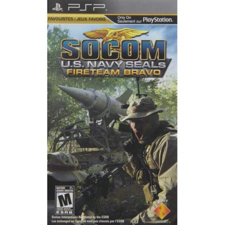 Refurbished Socom: Fireteam Bravo Sony For PSP UMD With Case