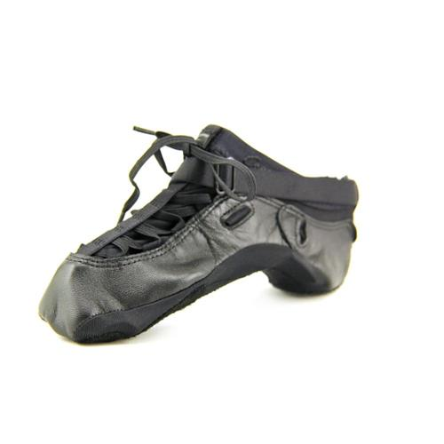 bloch fizzion youth size 4 black leather shoes