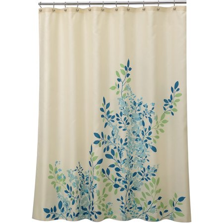 Allure Home Creations Gardener Blue Shower Curtain