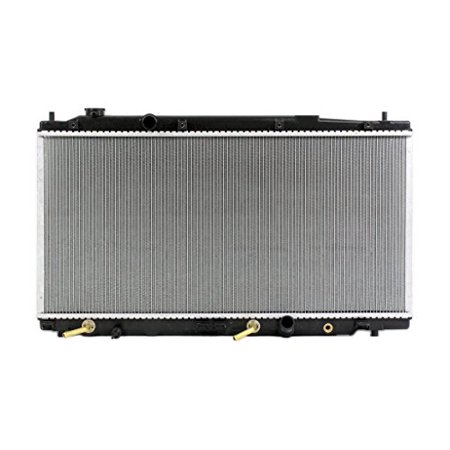 Radiator - Pacific Best Inc For/Fit 13068 09-14 Honda Fit A/T Plastic Tank Aluminum