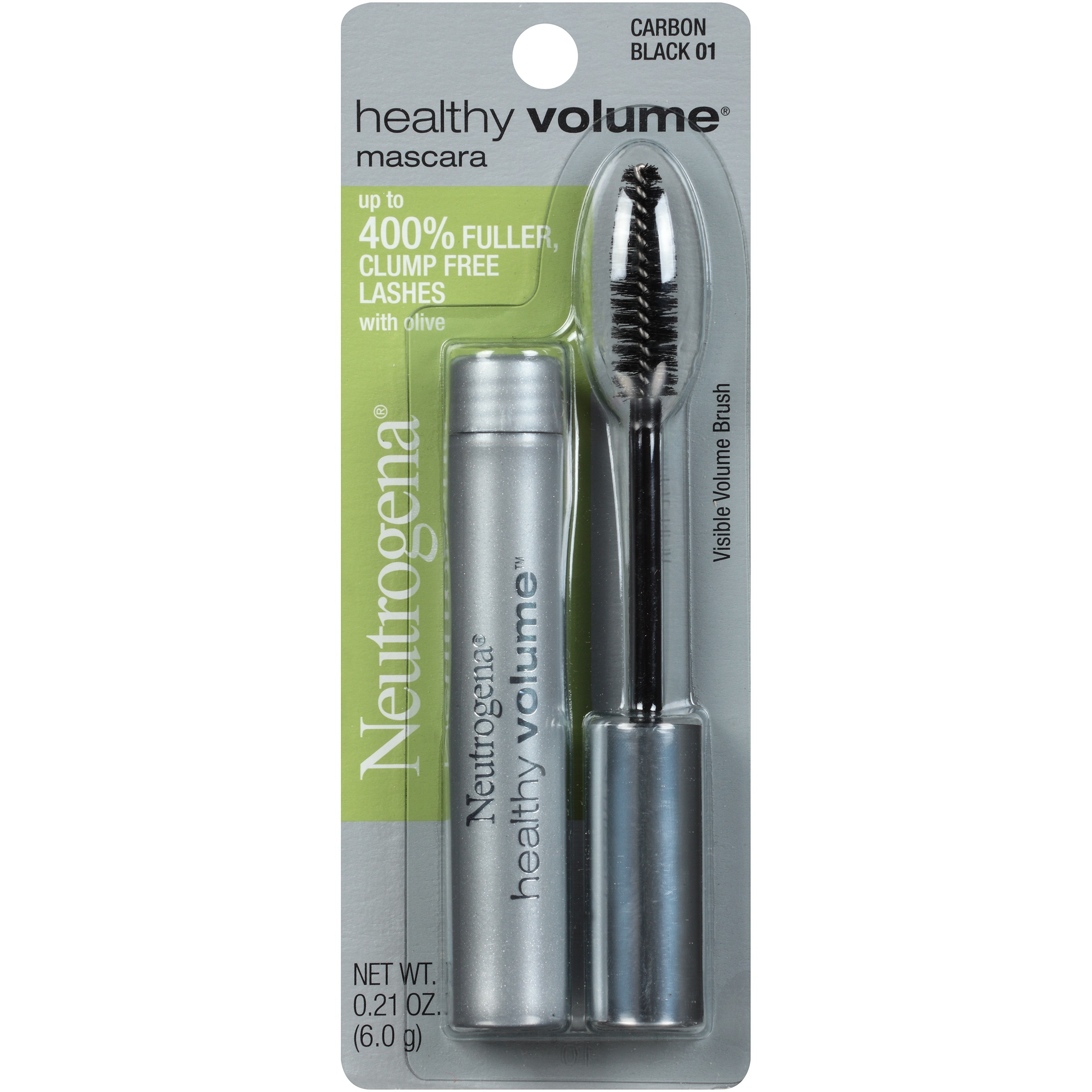Neutrogena Healthy Volume Mascara, Carbon Black 01, .21 Oz