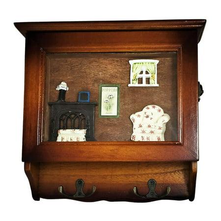 heartful home key holder wall mounted organizer save time. Black Bedroom Furniture Sets. Home Design Ideas