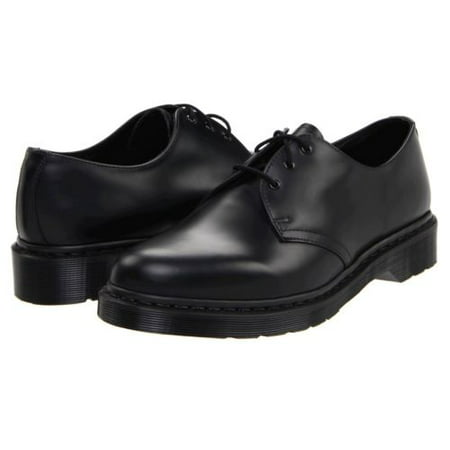 Dr. Martens Men's 1461 Mono 3 Eye Leather Oxfords - Kids Red Dr Martens
