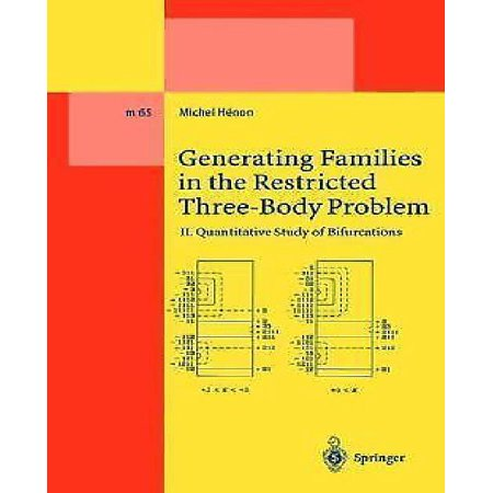 Generating Families in the Restricted Three-Body Problem: II. Quantitative Study of Bifurcations (Softcover Reprint of the Origi)