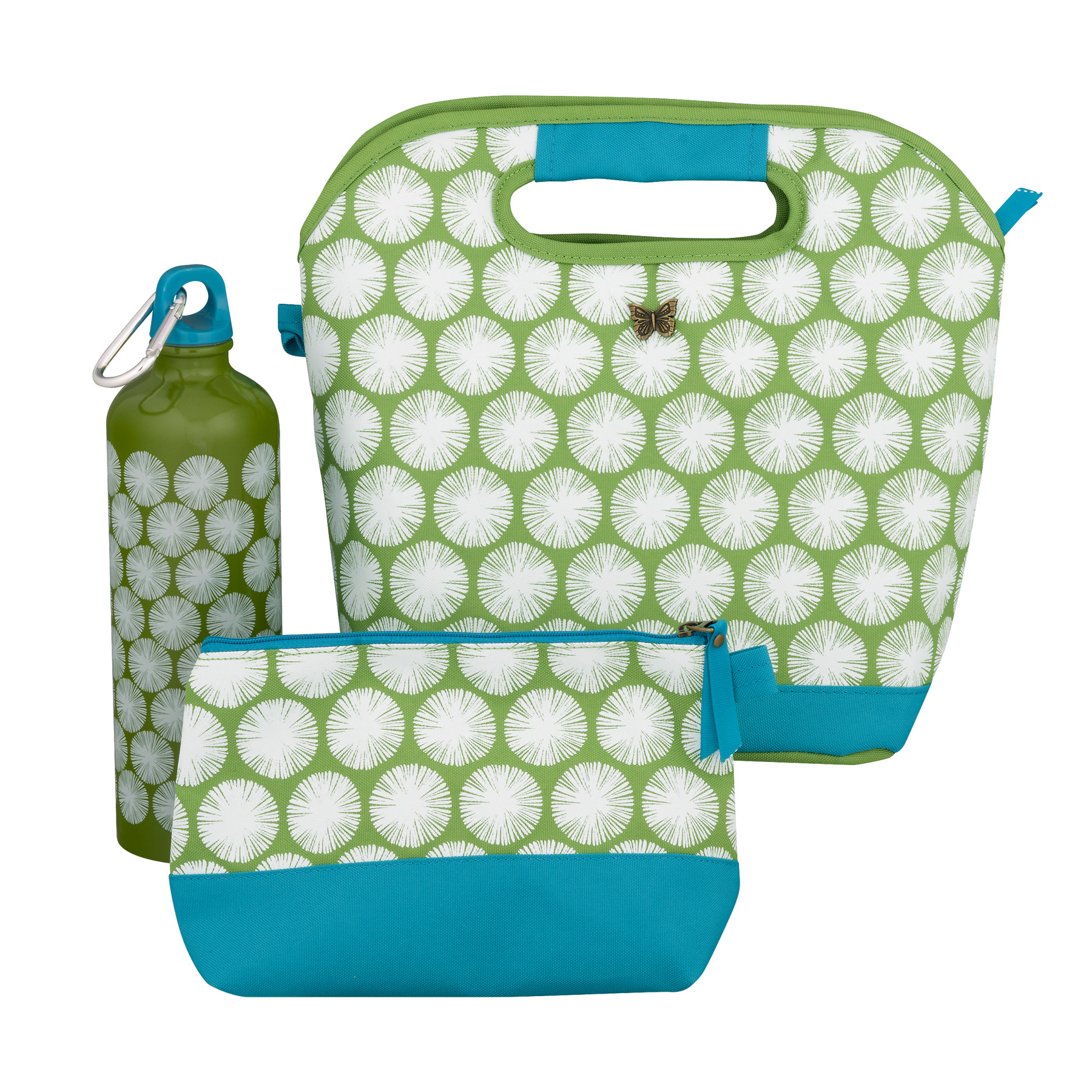 The Pioneer Woman Insulated Lunch Bag And Water Bottle, 1.0 CT