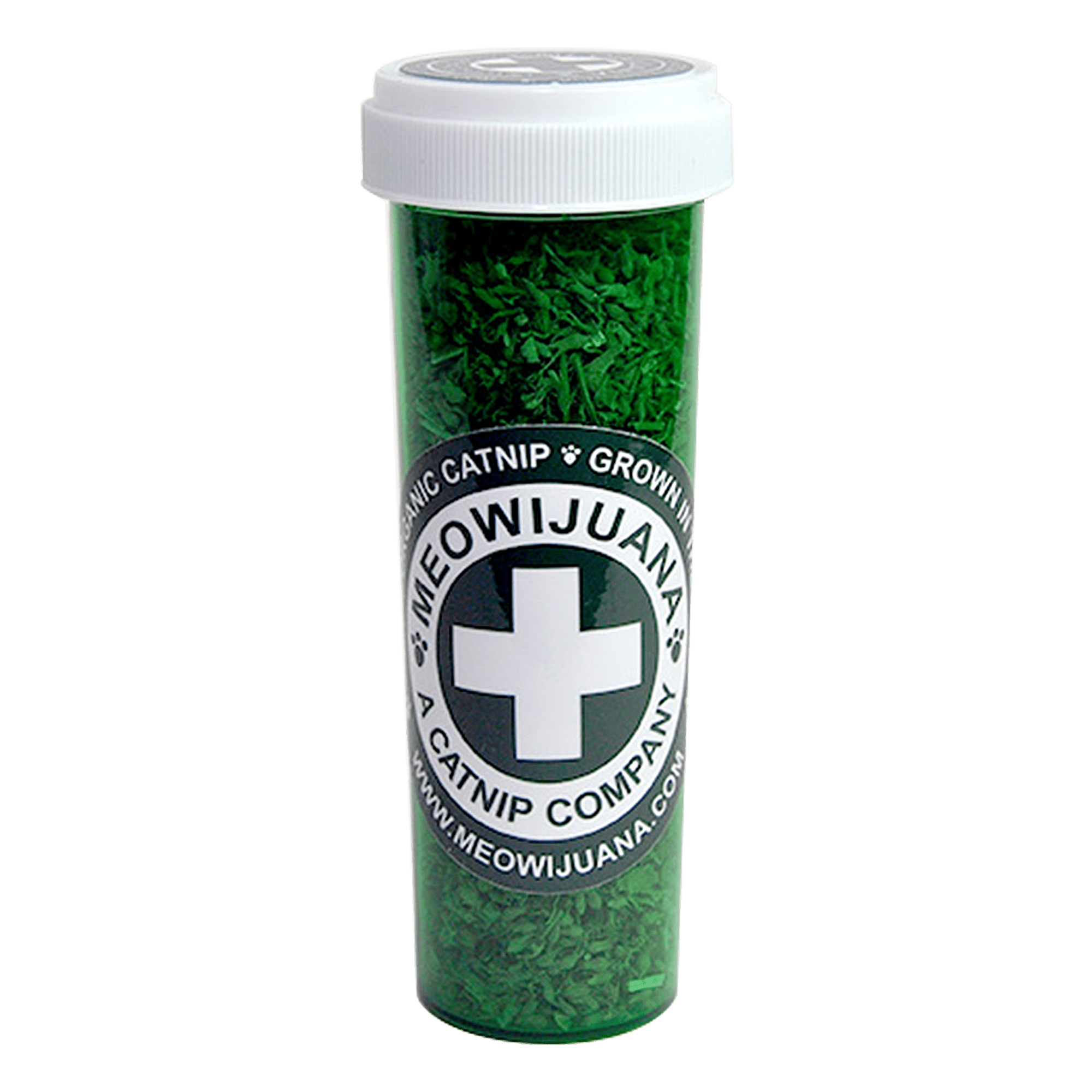 Meowijuana Meowi-Waui Premium Catnip Large Bottle, 18 grams by Meowijuana