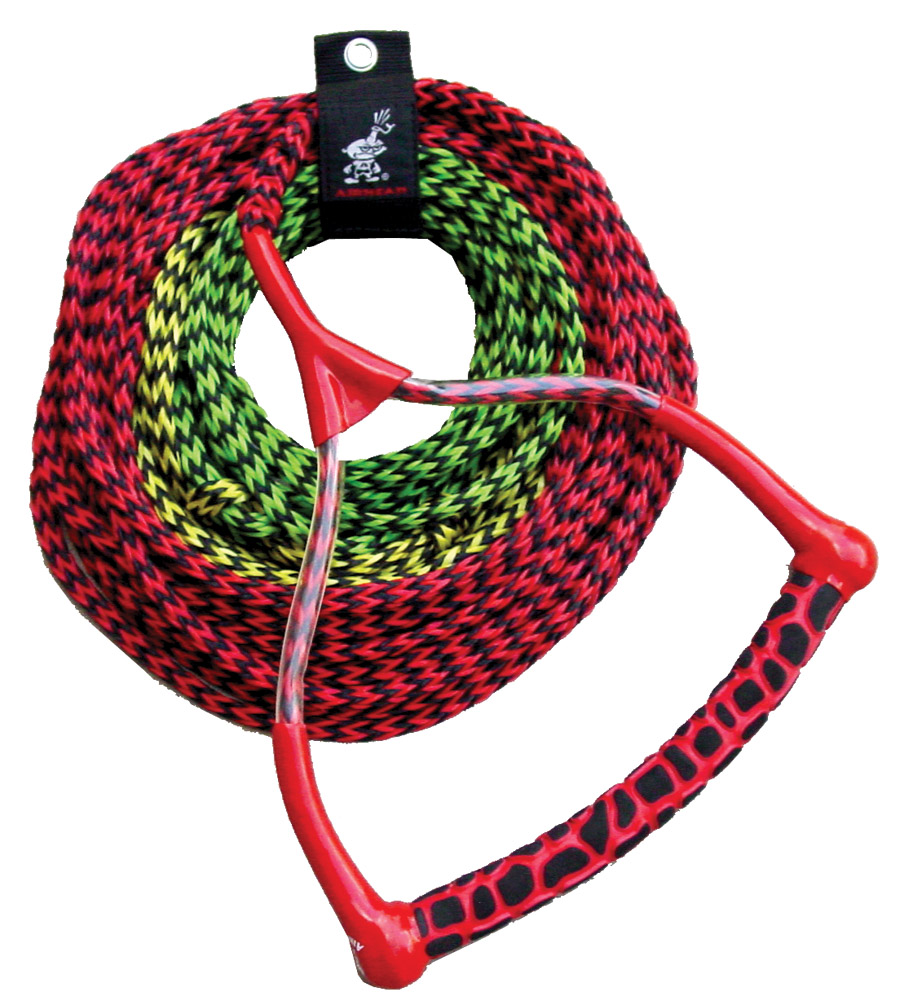 3-Section Water Ski Rope with Radius Handle and EVA Grip