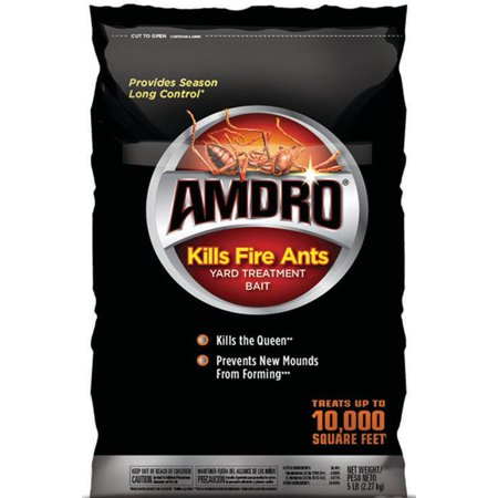Amdro Kills, Fire Ant Killer, Yard Treatment Bait, 5 lbs ()