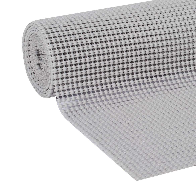 Duck Select Grip 20 In. x 6 Ft. Shelf Liner, Light Gray