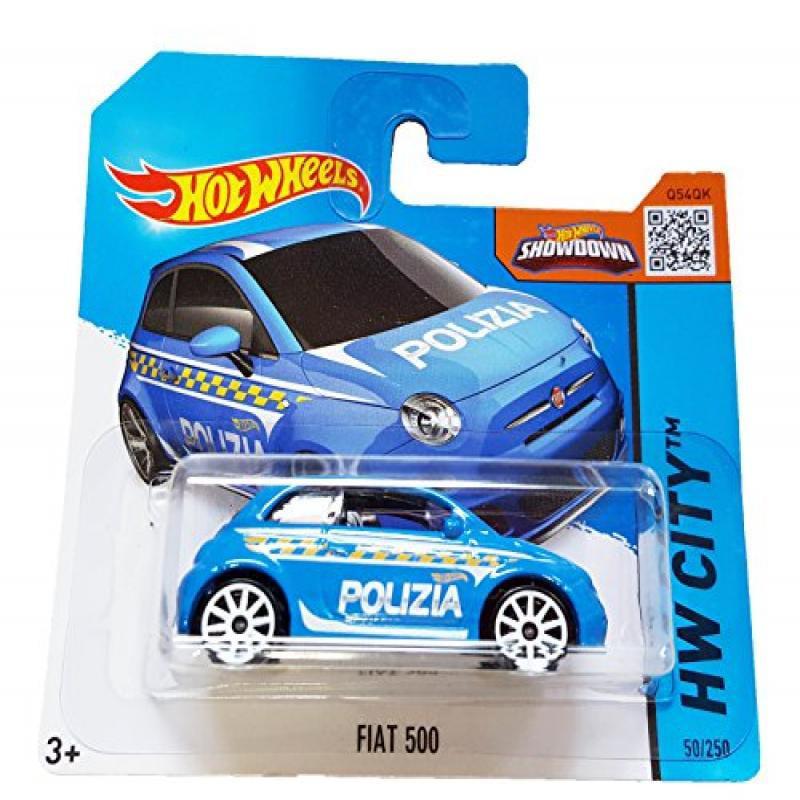 Hot Wheels HW City 50 250 Fiat 500 on Short Card by Mattel by