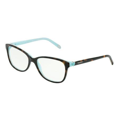 31155688a185 Tiffany Optical 0TF2097 Full Rim Square Womens Eyeglasses - Size 52 (Havana  Blue   Clear Lens) - Walmart.com