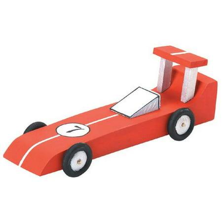 Wood Model Kit, Race Car](Wood Kits)
