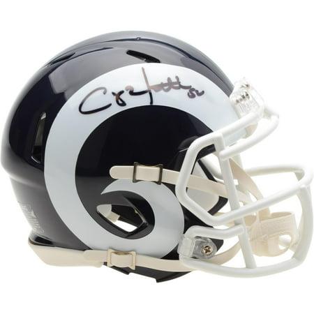 Clay Matthews Los Angeles Rams Autographed Riddell Speed Mini Helmet - Fanatics Authentic (Authentic Riddell Mini Helmet)