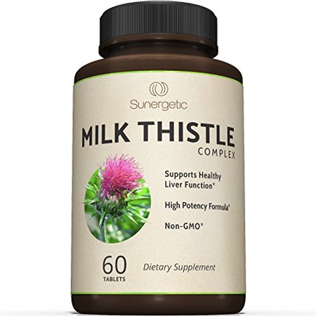 Premium Milk Thistle Complex For Natural Liver Support    Standardized Silymarin Content For Detox And Cleanse  Powerful Milk Thistle Extract   Seed Powder For Maximum Health    60 Tablets