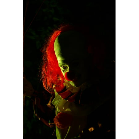 LAMINATED POSTER Creepy Clown Halloween Horror Poster Print 24 x 36 - Creepy Halloween Clown