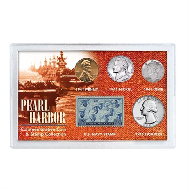 American Coin Treasures 6515 Pearl Harbor Coin & Stamp Collection